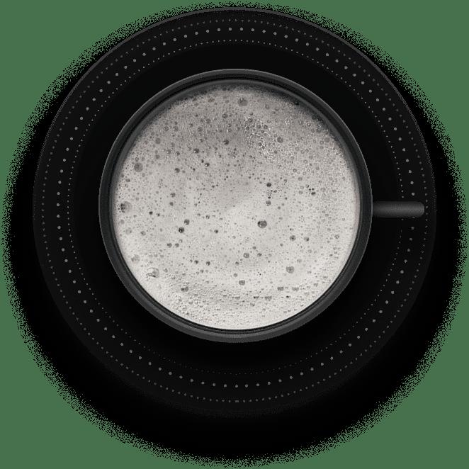 Black Latte - tazza